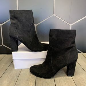 Womens Madden Girl Fancie Black Ankle Boots Sz 10
